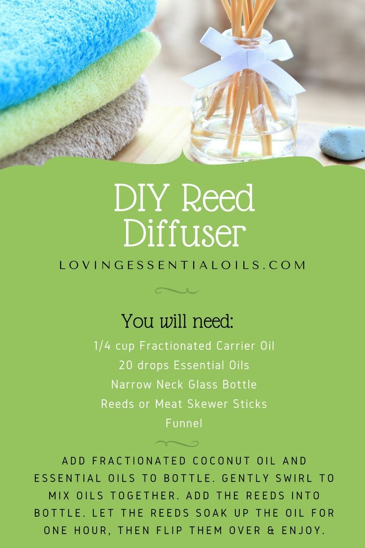 DIY Essential Oil Reed Diffuser Recipe | How To Make A Homemade Reed Diffuser | Aromatherapy Blends | Essential Oil Uses #diffuserrecipes #reeddiffuser