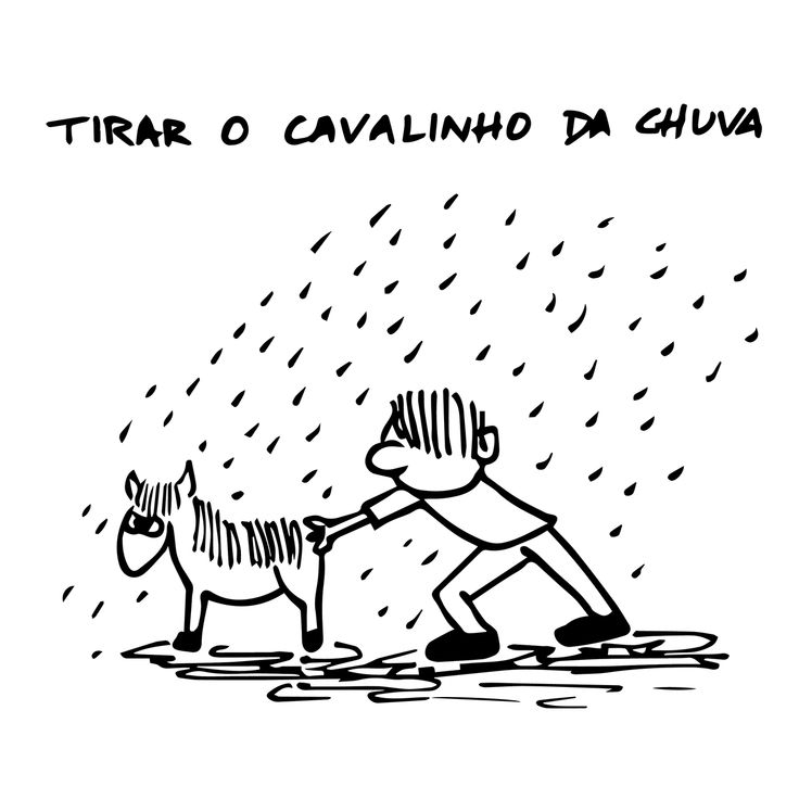 """""""Take the little horse from the rain"""" meaning: Don't Count On That!"""