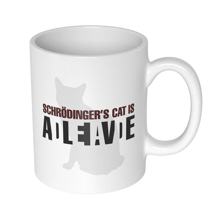 Schrödingers Katze Becher   getDigital