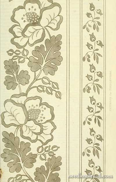 Ackermann's Repository & Embroidery Patterns