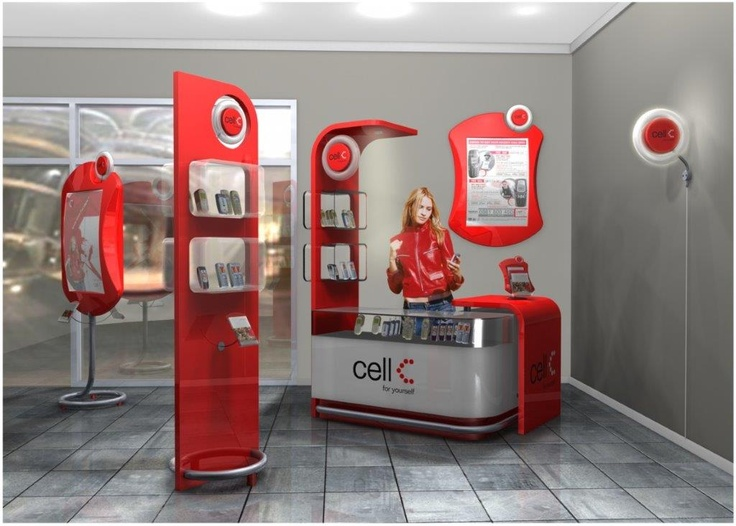 CELL C - store environment