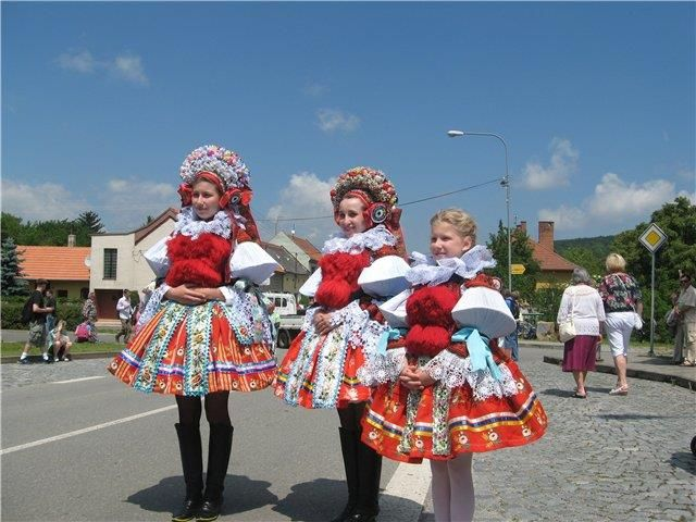 Нацыональные костюмы чехии