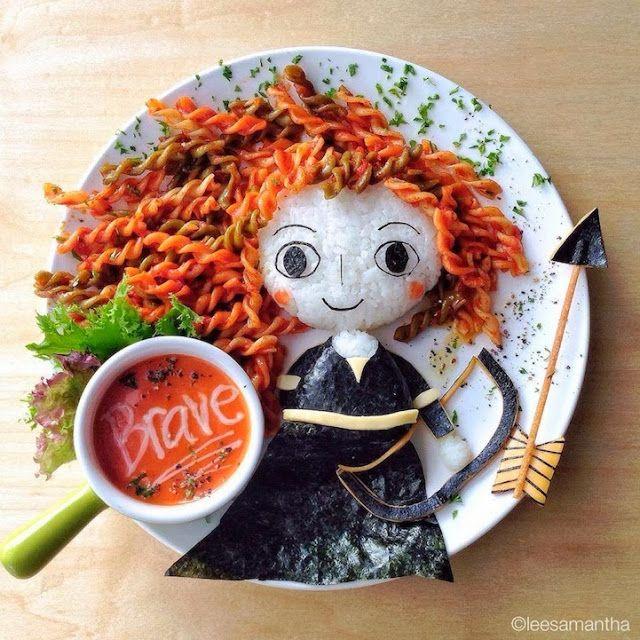 Merida (Brave)  - Art Foods