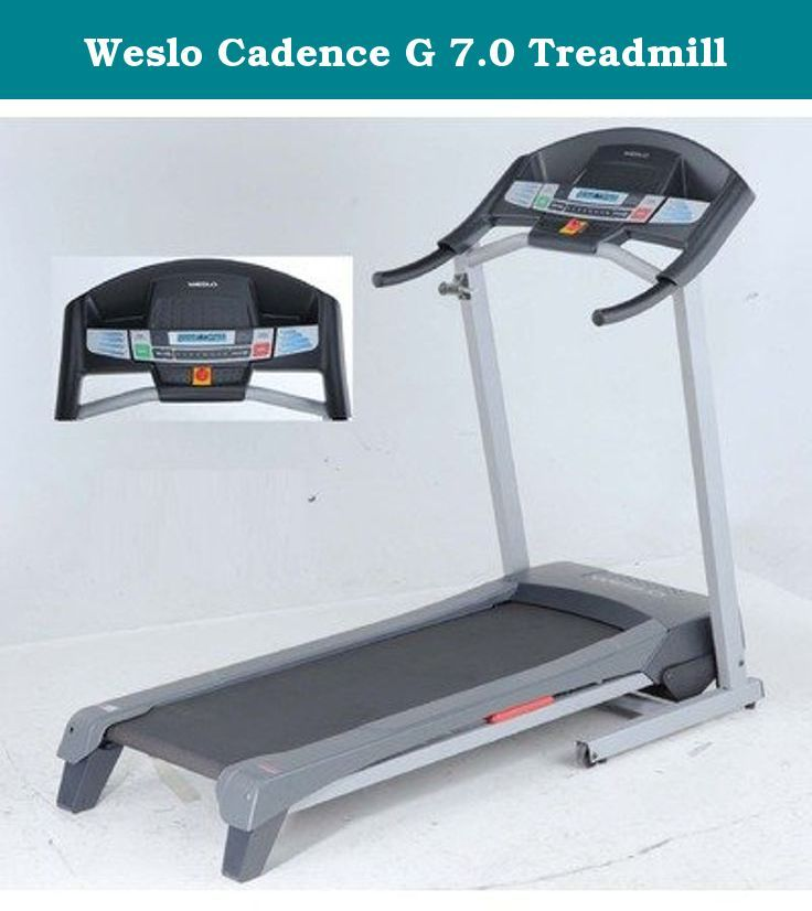 Weslo Cadence G 7.0 Treadmill. Enhanced features, better results, affordable price-the Weslo® Cadence G 7.0 Treadmill is exactly what you're looking for. The Impulse MaxTM Motor delivers expanded power and a smooth workout, and incline up to 10% intensifies your training for more calorie burn, faster weight loss and reduced impact. Eight Weight-Loss Workout Apps are designed by a Certified Personal Trainer so no matter what you choose, you get real results. Plus, Comfort CellTM Cushioning...