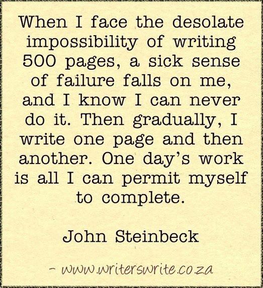 Quotable - John Steinbeck - Writers Write Creative Blog