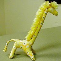 Жираф - мягкая игрушка своими руками, выкройка