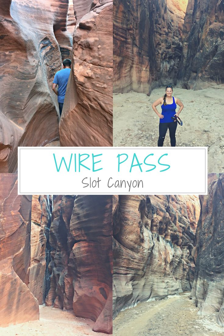 Wire Pass Slot Canyon (Arizona and Utah) leads to the world's longest, continuous slot canyon, Buckskin Gulch. Wire Pass Slot Canyon is so close to the North Coyote Buttes area that we had to try it out. It was our first slot canyon! Entry is $6. (I think that's what it was!) This 1.7 mile, one-way hike provides access to the world's longest continuous slot canyon, Buckskin Gulch. There are many boulders and rocks you must climb over to access the slot canyon. But, the hike is worth it!
