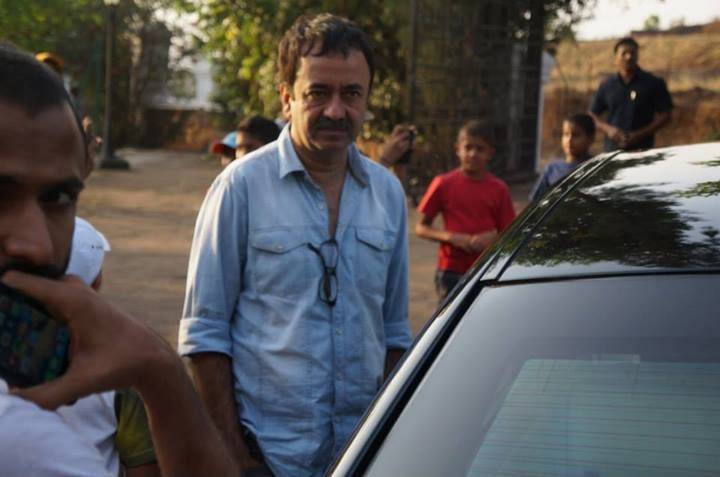 National Award winning director and producer Mr. #Rajkumar Hirani at the tennis championship in Ravine Hotel.