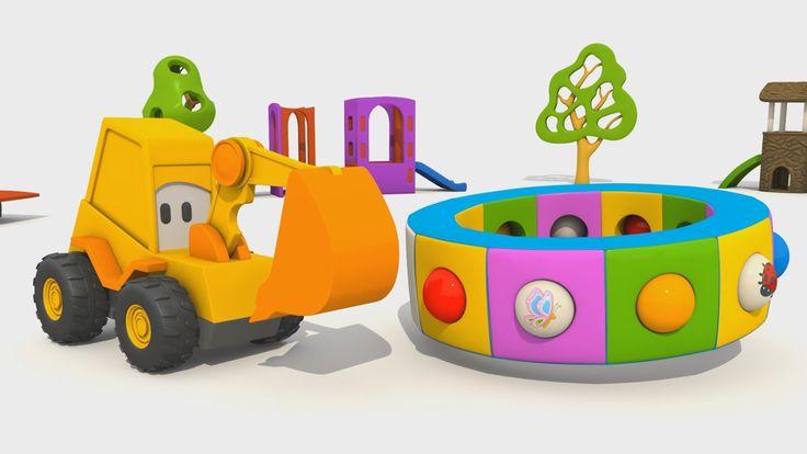 Cartoni Animati per Bambini - L'escavatore Max e la fantastica giostra: gli insetti