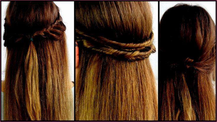 Schnelle Frisuren Lange Lockige Haare