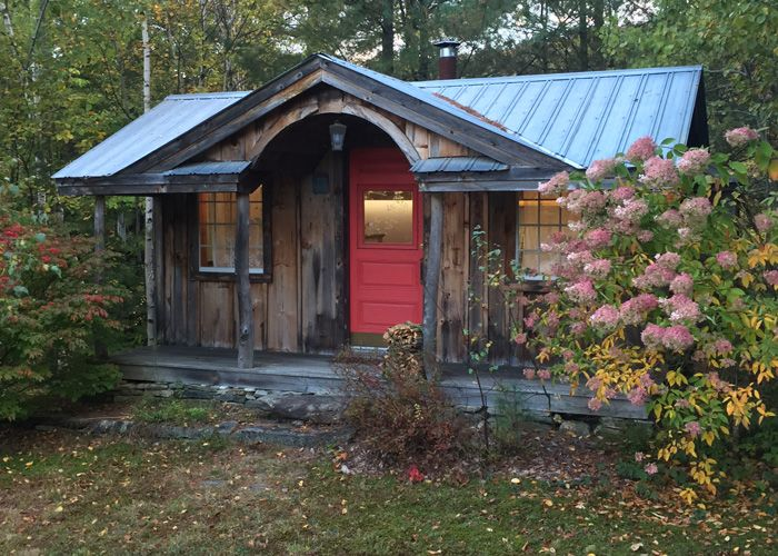The gibraltar cabin can be ordered as a prefab cabin a for Prefab she shed