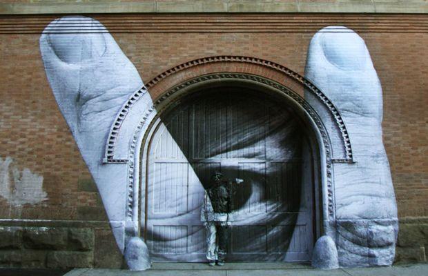 JR x Liu Bolin in New York | Video: Favorite Places, Concern Artists, Street Art, New York, Social Concern, Liu Bolin