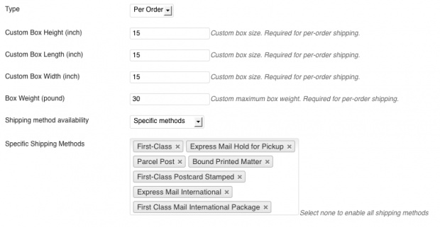 USPS WooCommerce Shipping Extension