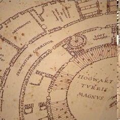 Whimsical Wizard Cartography : Marauder's Map