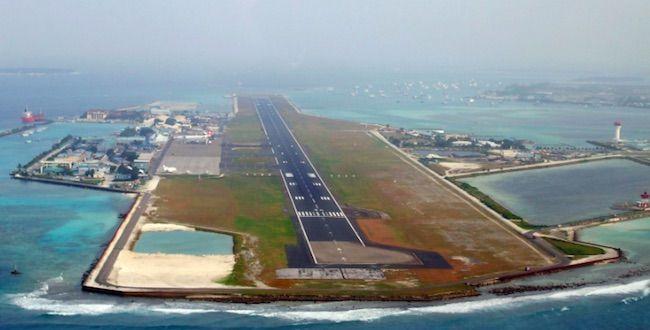 Bandara Ibrahim Nasir International Airport, Maladewa.