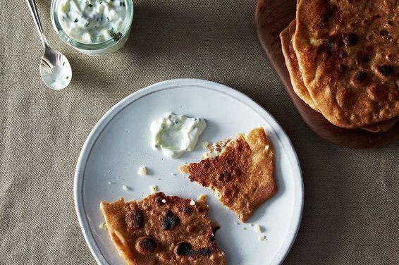 Rosemary Alu Paratha (Potato Parathas with Fresh Rosemary), a recipe on Food52