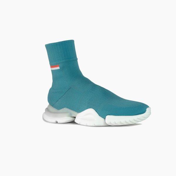 Reebok Tech Sock Run Shoes - White
