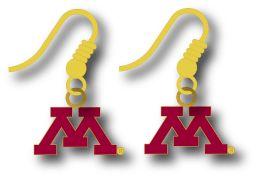 Minnesota College Logo Earring