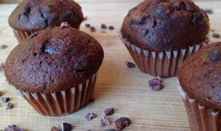 Gezonde chocolade cupcakes - From Fat To Fit