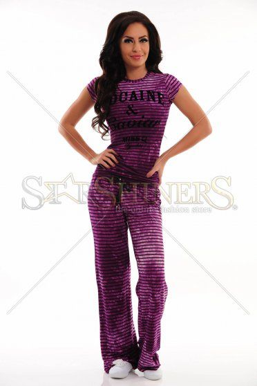 Pijama MissQ Wild Night Purple