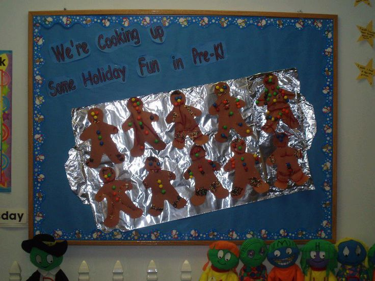 christmas bulletin board ideas | Cooking Up Holiday Fun Bulletin Board - MyClassroomIdeas.com:
