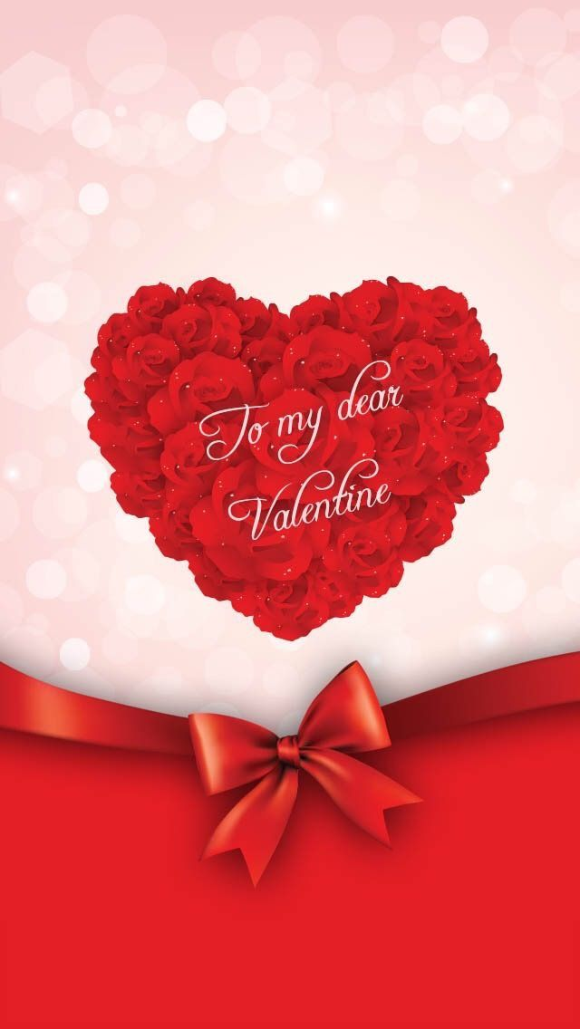 iPhone wallpaper Happy Valentine's Day