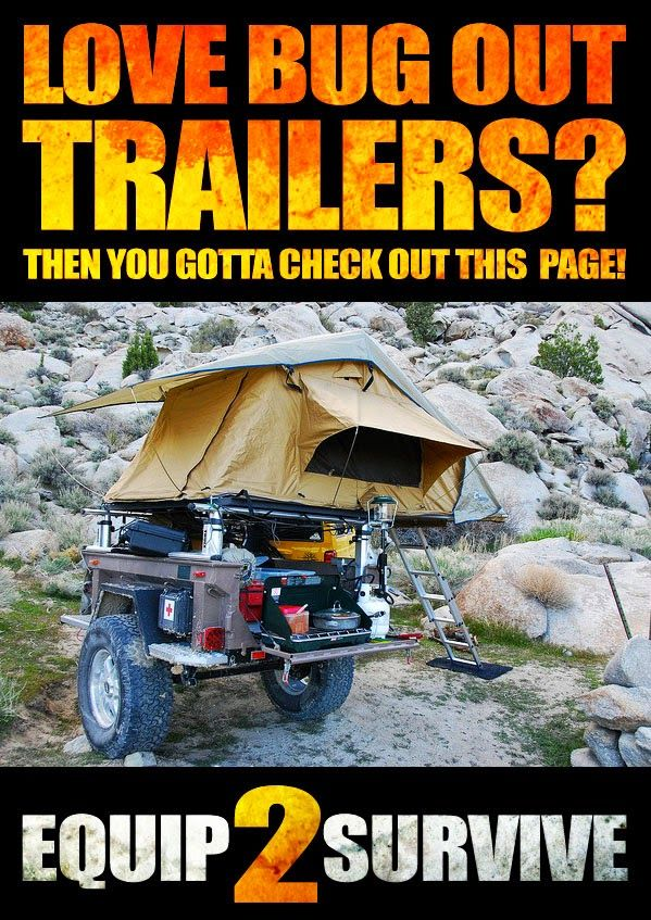 Survival and Preparedness from Equip2Survive.com: Why A Bug Out Trailer Should Be A Part Of Your Preps!