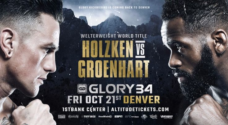]New York, NY – GLORY, the world's premier kickboxing league, today announced the addition of a welterweight trilogy fight to the stacked GLORY 34 Denver card, taking place on Friday, Oct. 21 at 1S…