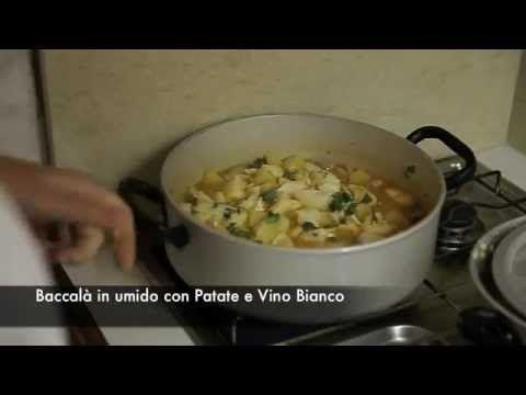 Baccalà in umido con Patate e Vino bianco