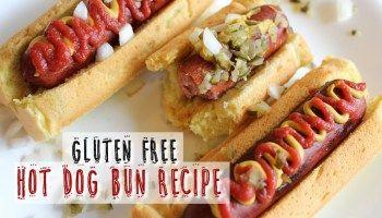Gluten Free Hot Dog Bun Recipe - Egg Free Option