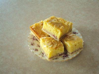 Bakewell Jam Slice recipe