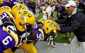 Image result for lsu football coach les miles