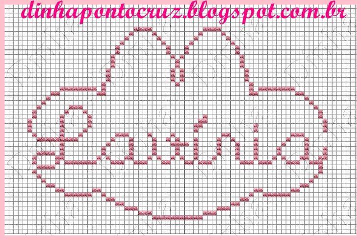 Olá bordadeiras no plantão!  Hoje tem a Coala charmosa do mundo cor de rosa:     aqui o gráfico paar vocês:     e mais uma sugestão:     ...