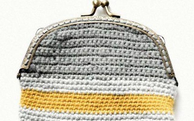 Tutoriel #DIY: #Crocheter une bourse rayée à fermoir via DaWanda.com