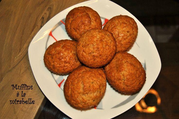 Muffins à la mirabelle