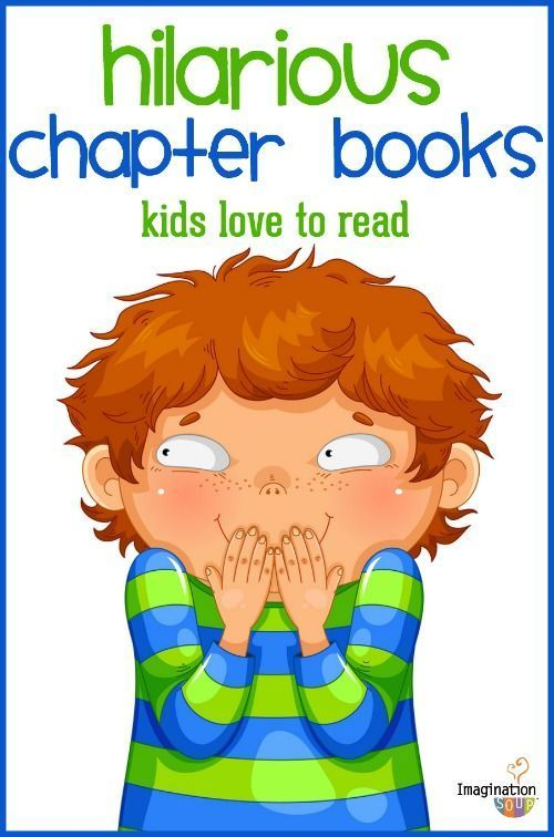 funny chapter books for kids (that will get them reading!)