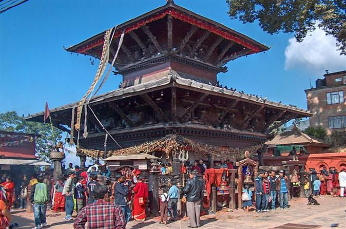 Manakamana Pilgrimage Guided Day Trip from Kathmandu On this day trip, visit the holy Temple of the Goddess Manakamana which lies on a beautiful ridge west of Kathmandu valley. Manakamana is linked with a cable car from the highway which can be reached in 10 minutes from the highway. Explore the area alongside a knowledgeable local guide and make the best of this day tour from Kathmandu.Start your tour with a 3-hour drive to Kurintar. When you arrive in Kurintar, you will be b...