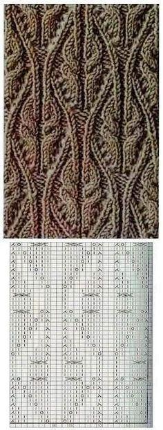 Kira knitting: Knitted pattern no. 187
