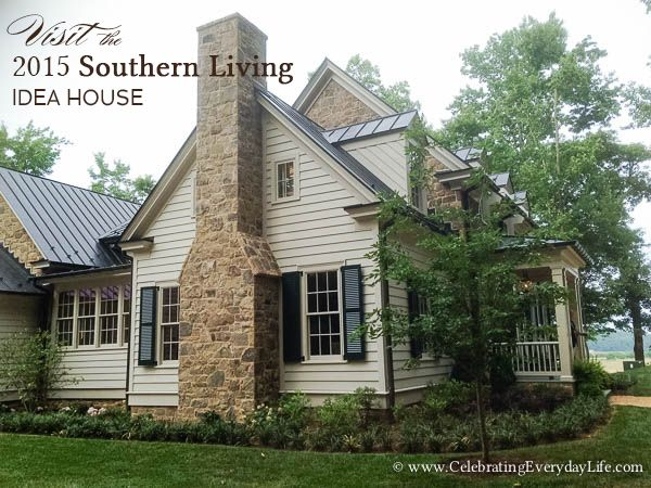 Let 39 s visit the 2015 southern living idea house in for Custom home builders charlottesville va