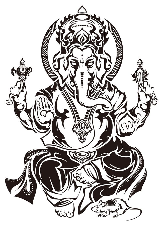 TRIBAL GANESH by Takihisa on deviantART