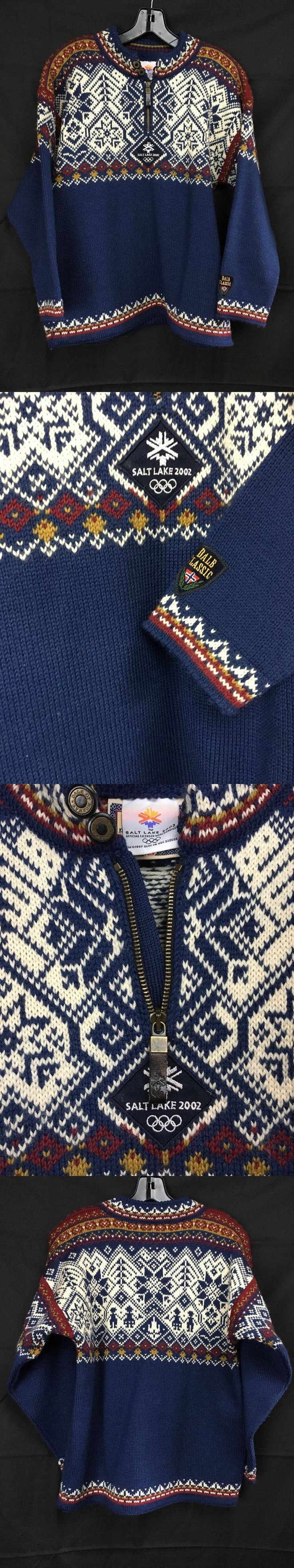 Sweaters 59522: Dale Of Norway Slc Utah 2002 Winter Olympics Collectible Norwegian Sweater - Xs BUY IT NOW ONLY: $69.0