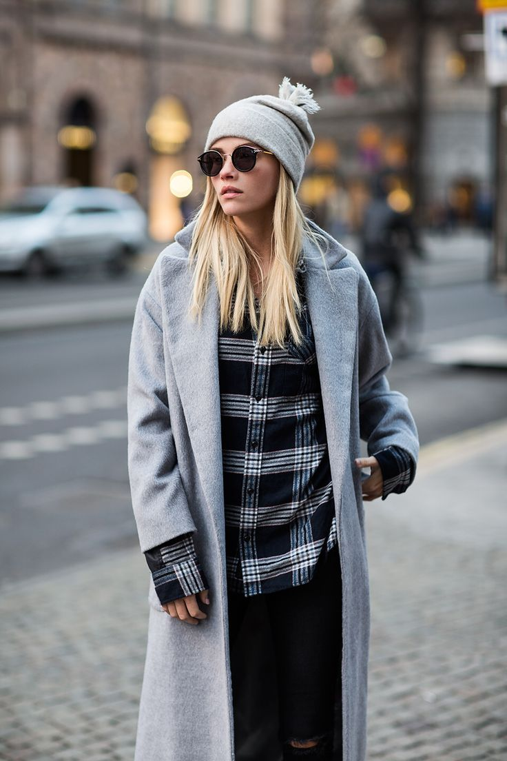 Famous fashion blogger - One Of The Most Famous Blogger Elsa Ekman Loves Balmuir S Helsinki Cashmere Beanie Www