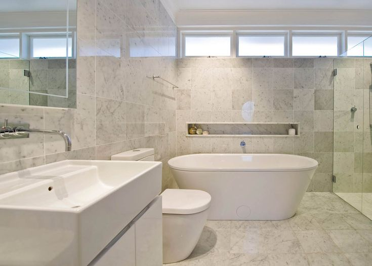 White Marble Tile Bathroom white bathroom tile gallery - creditrestore