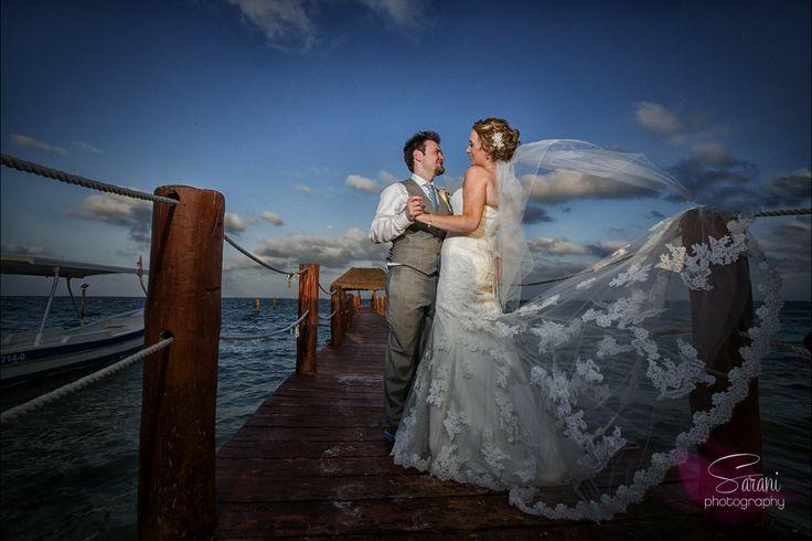 Photography Credit: Sarani Weddings Azul Beach / Karisma / Mexico