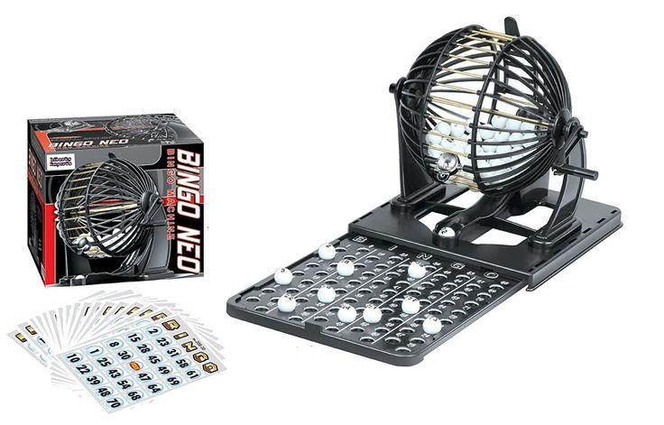 Liberty Imports Bingo Machine Cage Game Set with Balls (Classic)