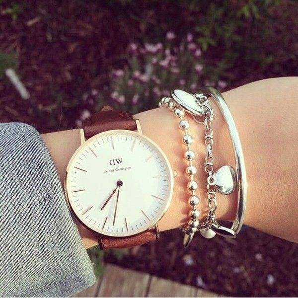 So in love!!!  daniel wellington classy st andrews rose gold