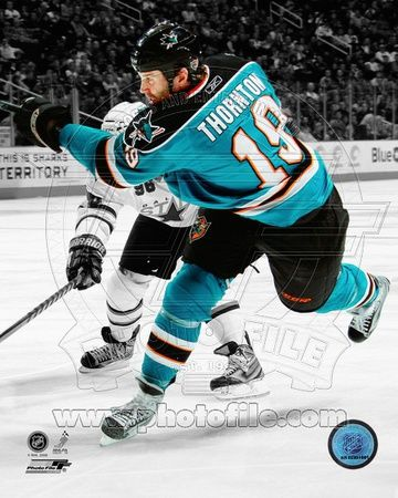 San Jose Sharks - Joe Thornton Photo