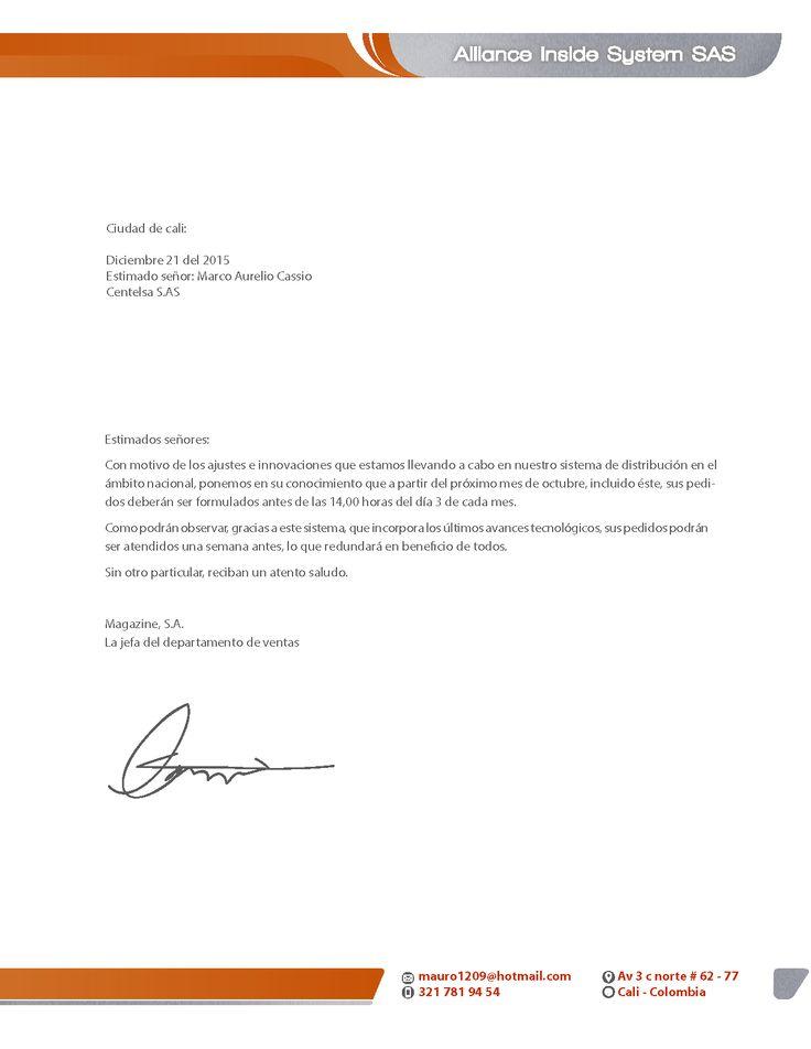 -Diseño de identidad corporativa -Carta membretada para Alliance Inside System.