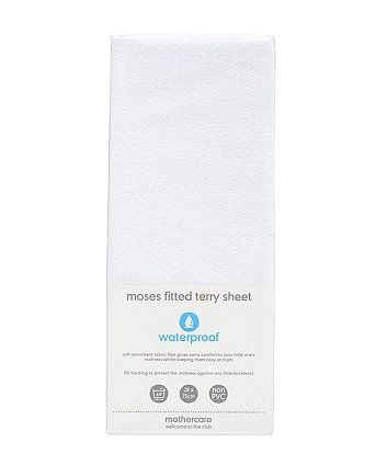 Fitted Terry Moses Basket/Pram Sheet | fitted sheets | Mothercare