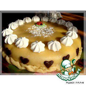 Рецепт марципановый торт